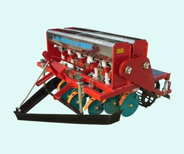 小麦播种机的使用和操作