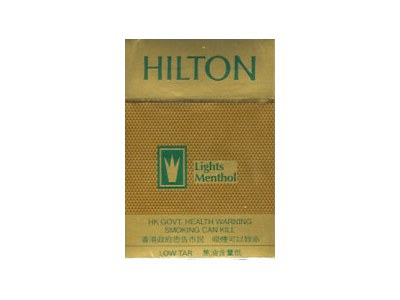 希尔顿(淡味薄荷 金)