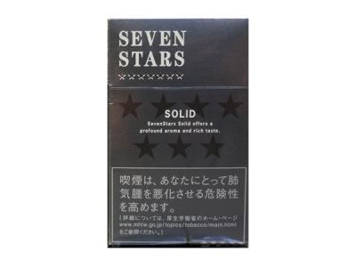 七星(硬黑.日本免税版)