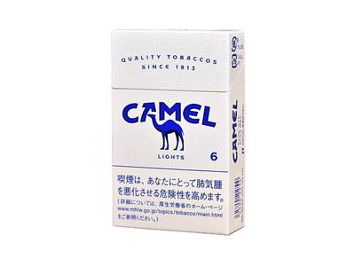 骆驼(硬特醇6mg日税版)